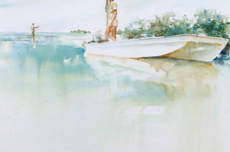 Bonefishing in the Yucatan